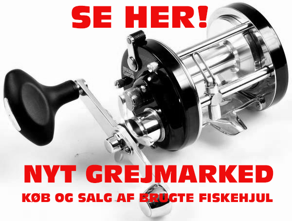 """Sælg dit brugte fiskehjul, eller find et """"brugt nyt""""!"""